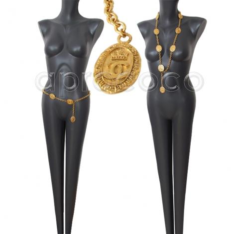 Vintage viktorianischen Halsketten mit Medaillons